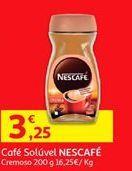 Oferta de Café solúvel Nescafé por 3,25€