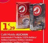 Oferta de Café Auchan por 1,29€