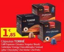 Oferta de Cápsulas de café Torrié por 1,85€