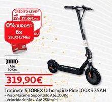 Oferta de Trotinete Storex por 319,9€