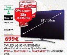 Oferta de Tv 55'' led LG por 699€