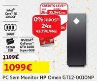 Oferta de Computador HP por 1099€