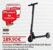 Oferta de Trotinete Storex por 189,9€