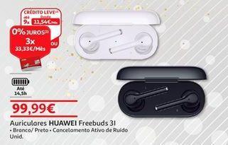 Oferta de Auscultadores Huawei por 99,99€