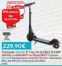 Oferta de Trotinete Qilive por 229,9€