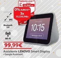 Oferta de Assistente Lenovo por 99,99€