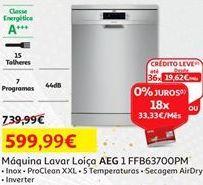 Oferta de Lava louças AEG por 599,99€