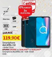 Oferta de Smartphones Alcatel por 119,9€
