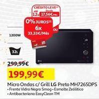 Oferta de Microondas LG por 199,99€