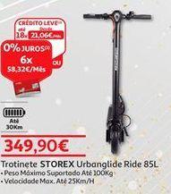 Oferta de Trotinete Storex por 349,9€