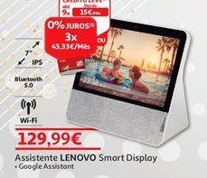 Oferta de Assistente Lenovo por 129,99€