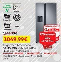 Oferta de Frigorífico combinada Samsung por 1049,99€