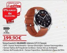 Oferta de Smartwatch Huawei por 199,9€