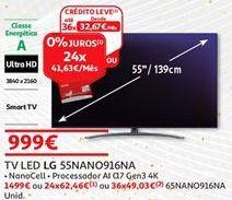 Oferta de Tv 55'' led LG por 999€