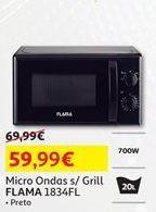 Oferta de Microondas Flama por 59,99€