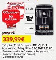 Oferta de Cafeteira Delonghi por 339,99€