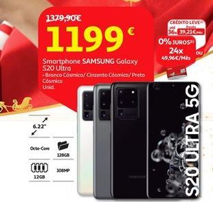 Oferta de Smartphones Samsung por 1199€