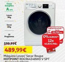 Oferta de Lavadora e secadora Hotpoint por 489,99€