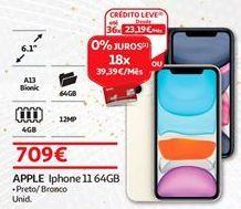 Oferta de IPhone 11 Apple por 709€