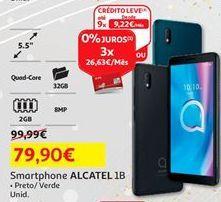 Oferta de Smartphones Alcatel por 79,9€