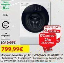 Oferta de Máquina lavar roupa LG por 799,99€