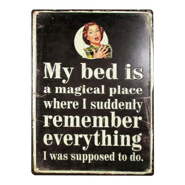 Oferta de Painel My Bed is a Magical por 6,99€