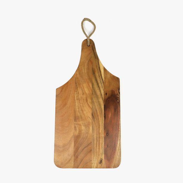 Oferta de Tábua Madeira 52x25 cm por 29,99€