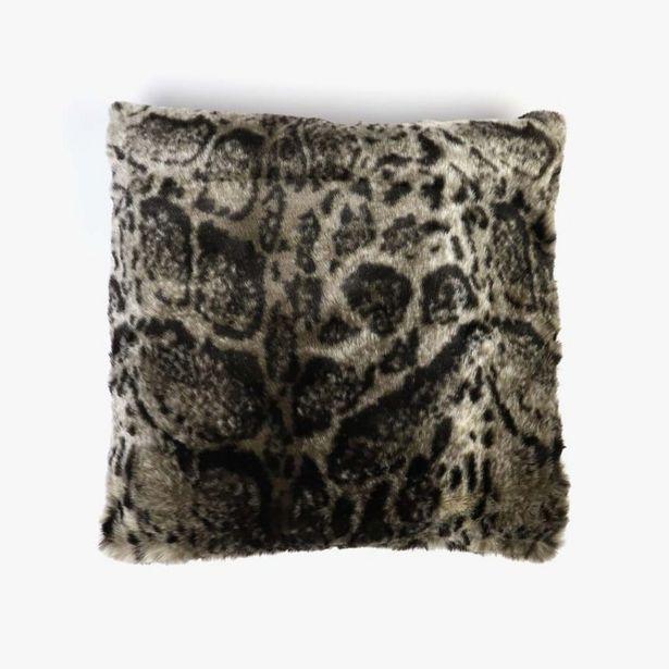 Oferta de Capa de Almofada Leopardo Pelo 45x45 cm por 14,99€