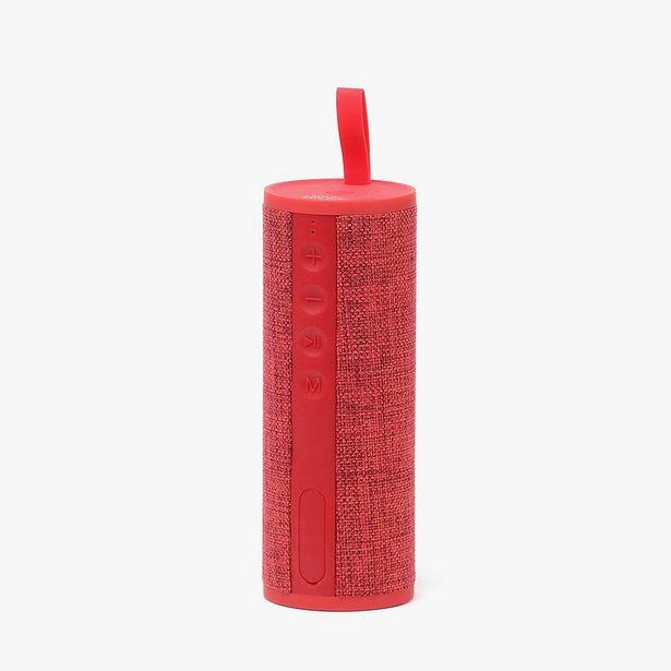 Oferta de Coluna de Som Music4EveryCat RAP Vermelha por 29,99€