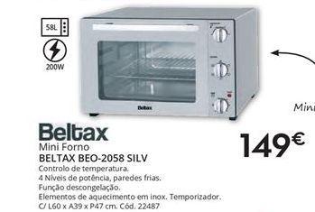 Oferta de Mini forno por 149€