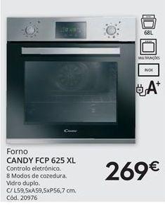 Oferta de Forno Candy por 269€