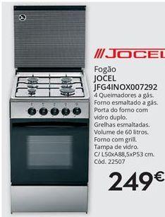 Oferta de Fogão Jocel por 249€