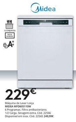 Oferta de Lava louças Midea por 229€