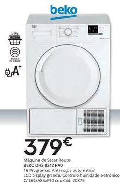 Oferta de Secadora beko por 379€