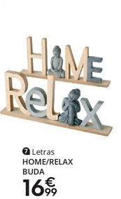 Oferta de Letras decorativas por 16,99€