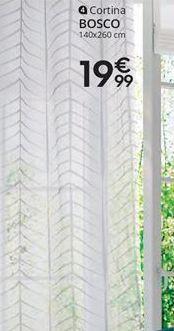 Oferta de Cortinas por 19,99€