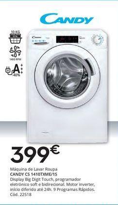 Oferta de Máquina lavar roupa Candy por 399€