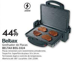 Oferta de Grelhador Beltax por 44,99€