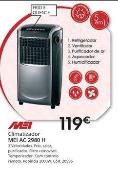Oferta de Climatizador Mei por 119€