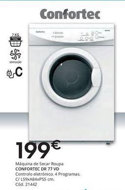 Oferta de Secadora Confortec por 199€