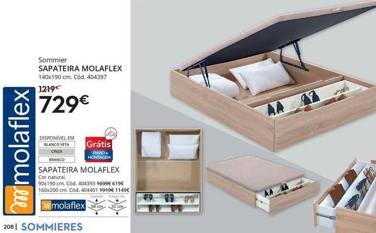 Oferta de Sapateira molaflex por 729€