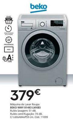 Oferta de Máquina lavar roupa beko por 379€