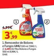 Oferta de Removedor de bolores e fungos UHU por 3,99€