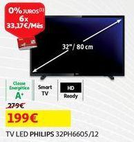 Oferta de Tv 32'' led Philips por 199€