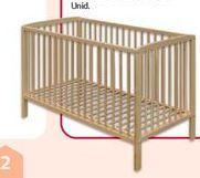 Oferta de Cama madeira Auchan Baby por 59,49€