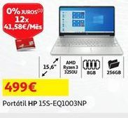 Oferta de Portátil HP por 499€