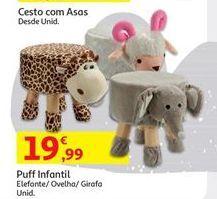 Oferta de Puff infantil por 19,99€