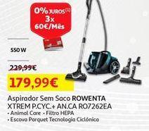 Oferta de Aspirador sem saco Rowenta por 179,99€