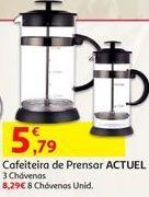 Oferta de Cafeteira de prensar Actuel por 5,79€