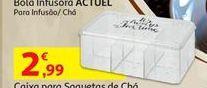 Oferta de Caixa para saquetas de chá por 2,99€